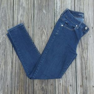 American Eagle Outfitters Hi-Rise Skinny Jeans 2S